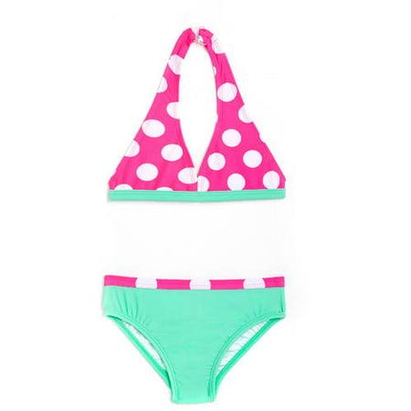 Op Newborn Baby Girl Bikini Swimsuit