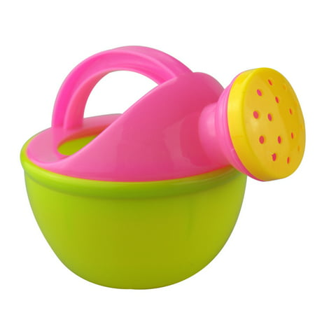 Plastic Baby Toys - 1 Pcs Baby Bath Toy Plastic Watering Can Watering Pot Beach Toy Play Sand Toy Gift for Kids Random Color