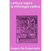 Letture sopra la mitologia vedica - eBook