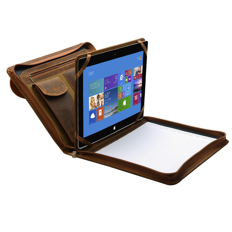 Surface Portfolio Case, Organizer Padfolio with Large Pouch Pocket, for MicrosoftSurfacePro 4
