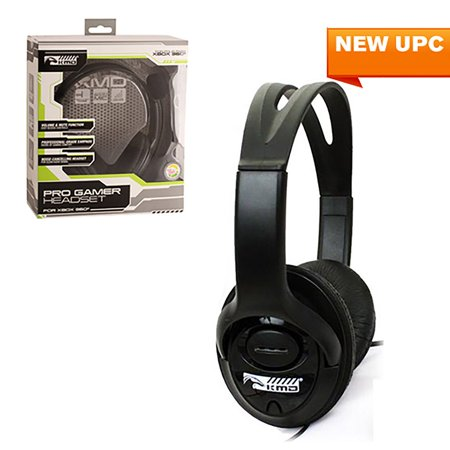 368e4bd388e KMD Live Chat Headset With microphone For Microsoft Xbox 360 Black Large  (Gift Idea) ...