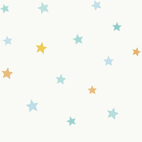 York Wallcoverings Peek-A-Boo Starry Sky Wallpaper