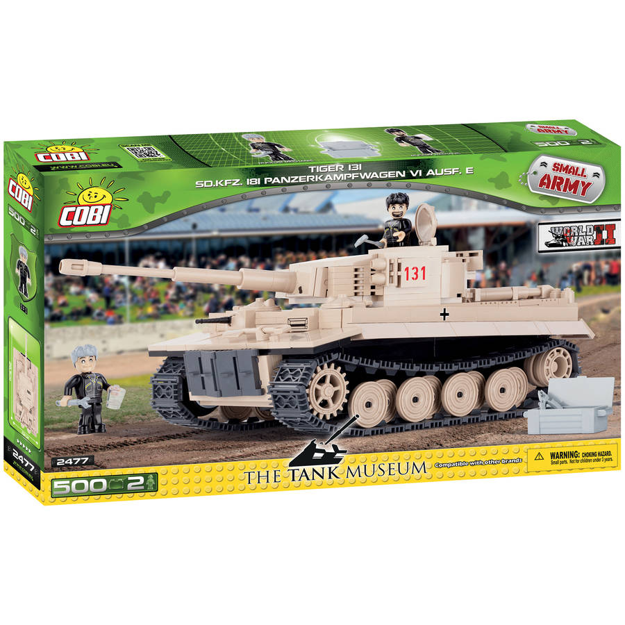 Cobi Small Army PZKPFW VI Tiger No 131 Construction Blocks Building Kit