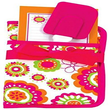 Brownlow 43702 Pink Orange & Green Potholder Gift Set - 3 Piece, Pack Of 3