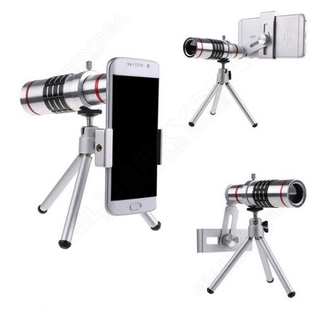 18x Optical Zoom Telescope Camera Lens Kit Tr For Cell Phone Smartphone