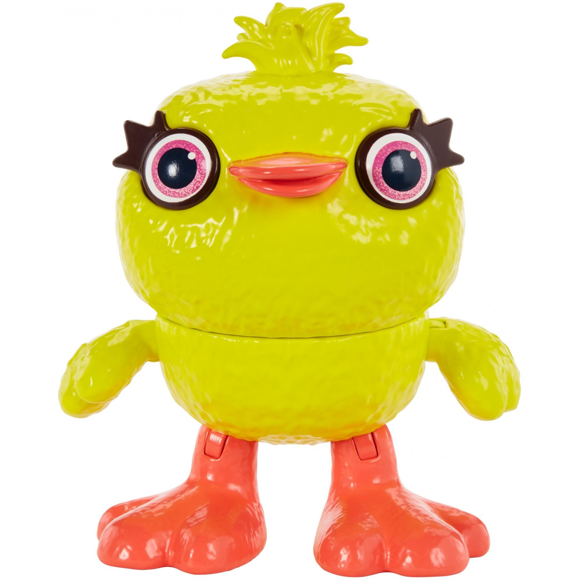 Disney Pixar Toy Story 4 Ducky Figure in Movie-Inspired Scale