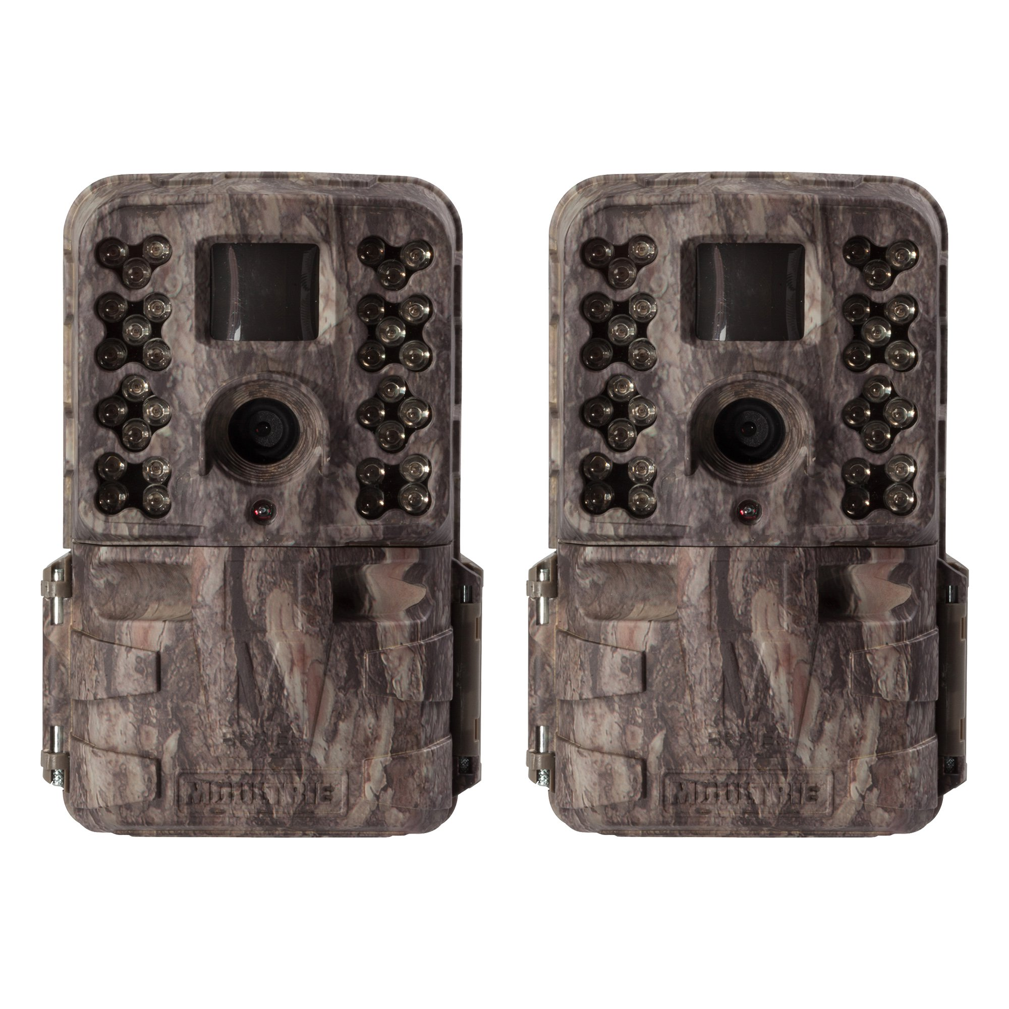 Moultrie M-40i 16MP 80' FHD Video No Glow Game Trail Camera, 2 Pack | MCG-13182