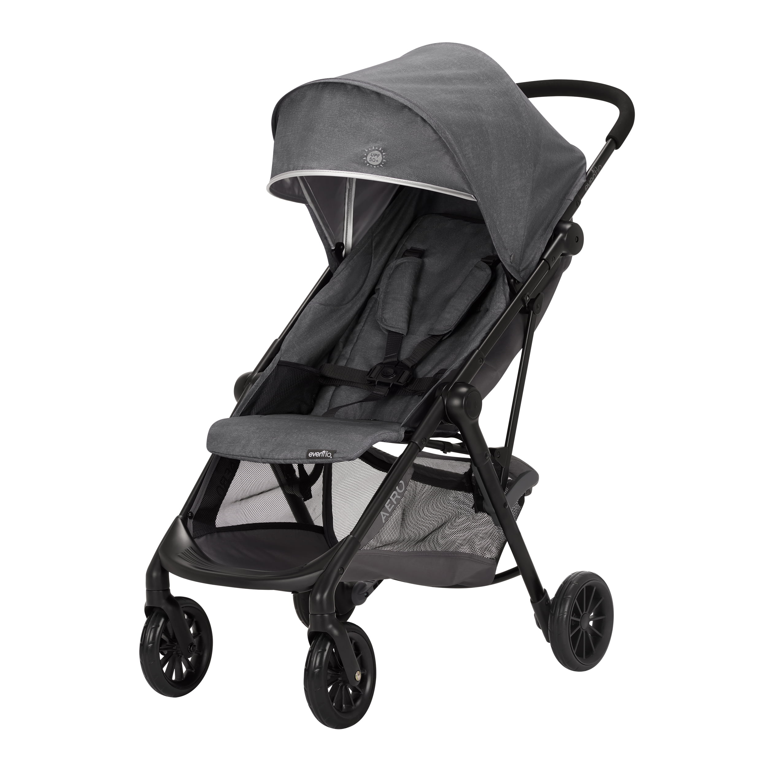 Click here to buy Evenflo Aero Ultra-Lightweight Stroller, Dove by Evenflo.
