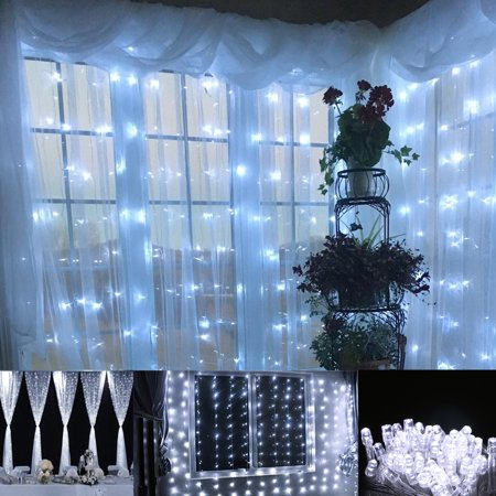 EEEKit Twinkle Fairy Light String 100 LED, Light String 33 Feet Wire String 8 Modes+Tail Plug Holiday Decoration ()