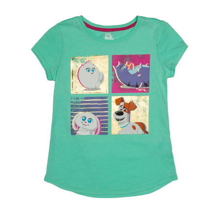 Girl Design Snap - Pets Snaps Sequin Graphic T-Shirt (Little Girls & Big Girls)