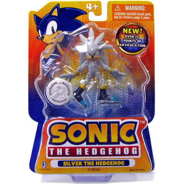 Sonic The Hedgehog Silver 3 5 Action Figure Walmart Com Walmart Com