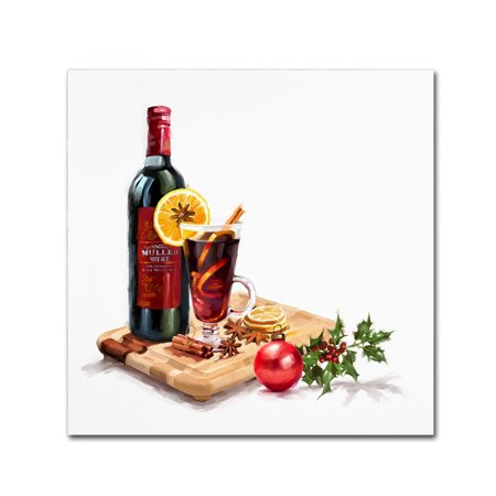 Trademark Fine Art 'Mulled Wine' Canvas Art by The Macneil
