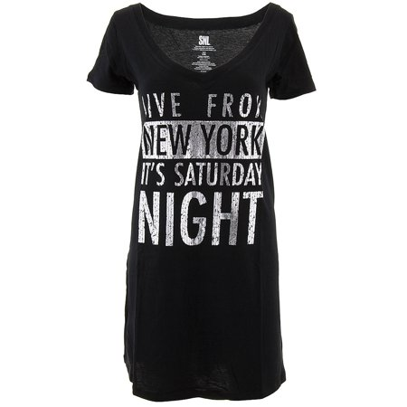 Snl Live From New York Womens Nightshirt