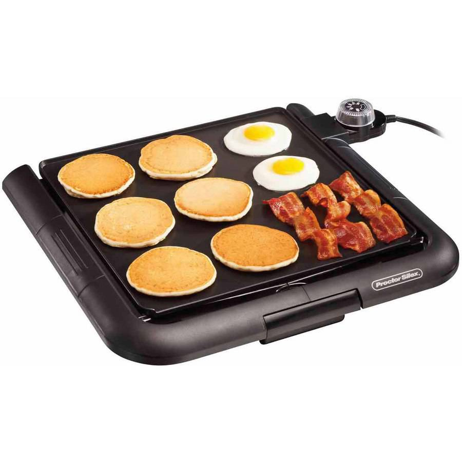 Proctor Silex Family Size Electric Griddle | Model# 38516 by Hamilton Beach Brands Inc.