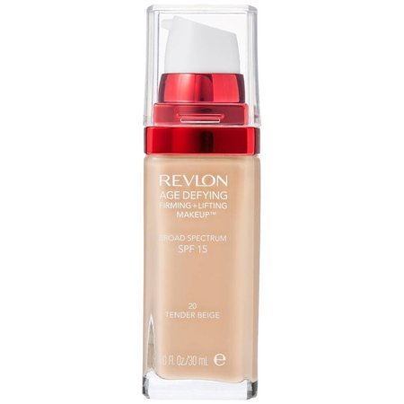 2 Pack - Revlon Age Defying Firming + Lifting Makeup, Tender Beige [20] 1