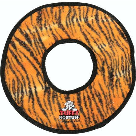 Tuffy® Orange No Stuff Ring Dog Toy (Stuffed Dog Toys)