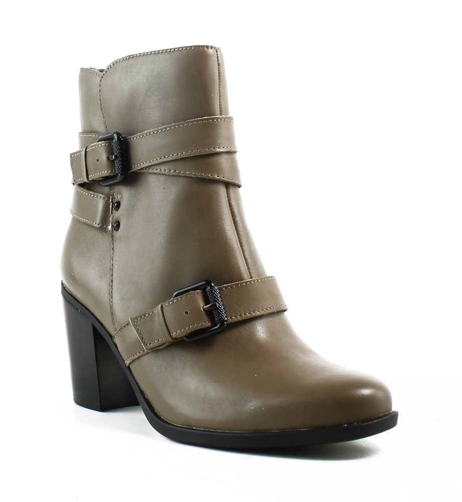 New Naturalizer Womens F1543l1 Taupe Ankle Boots Size 6.5 (C,D,W) by Naturalizer
