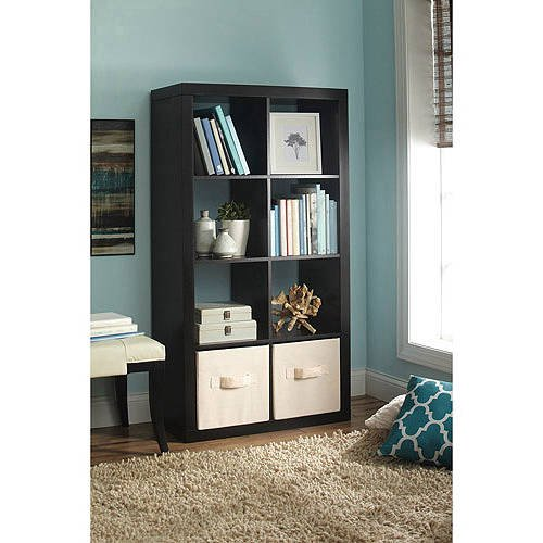 better homes and gardens 8 cube storage organizer multiple colors. Black Bedroom Furniture Sets. Home Design Ideas