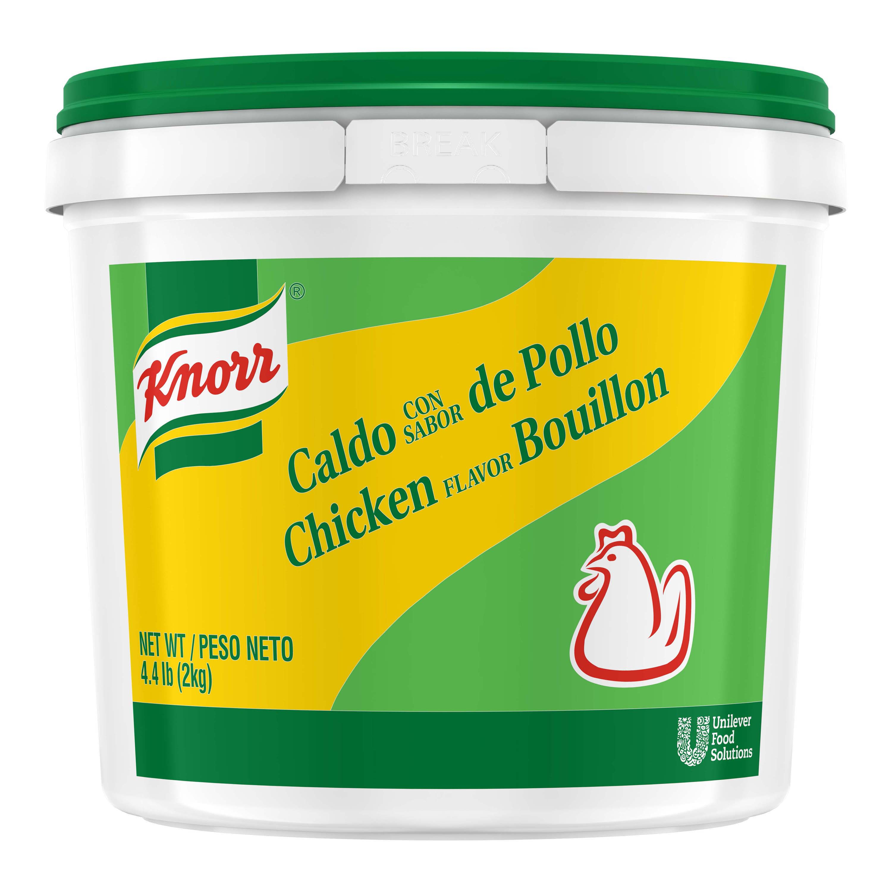 Knorr Bouillon Powder Caldo de Pollo / Chicken Bouillon 4.4 LB