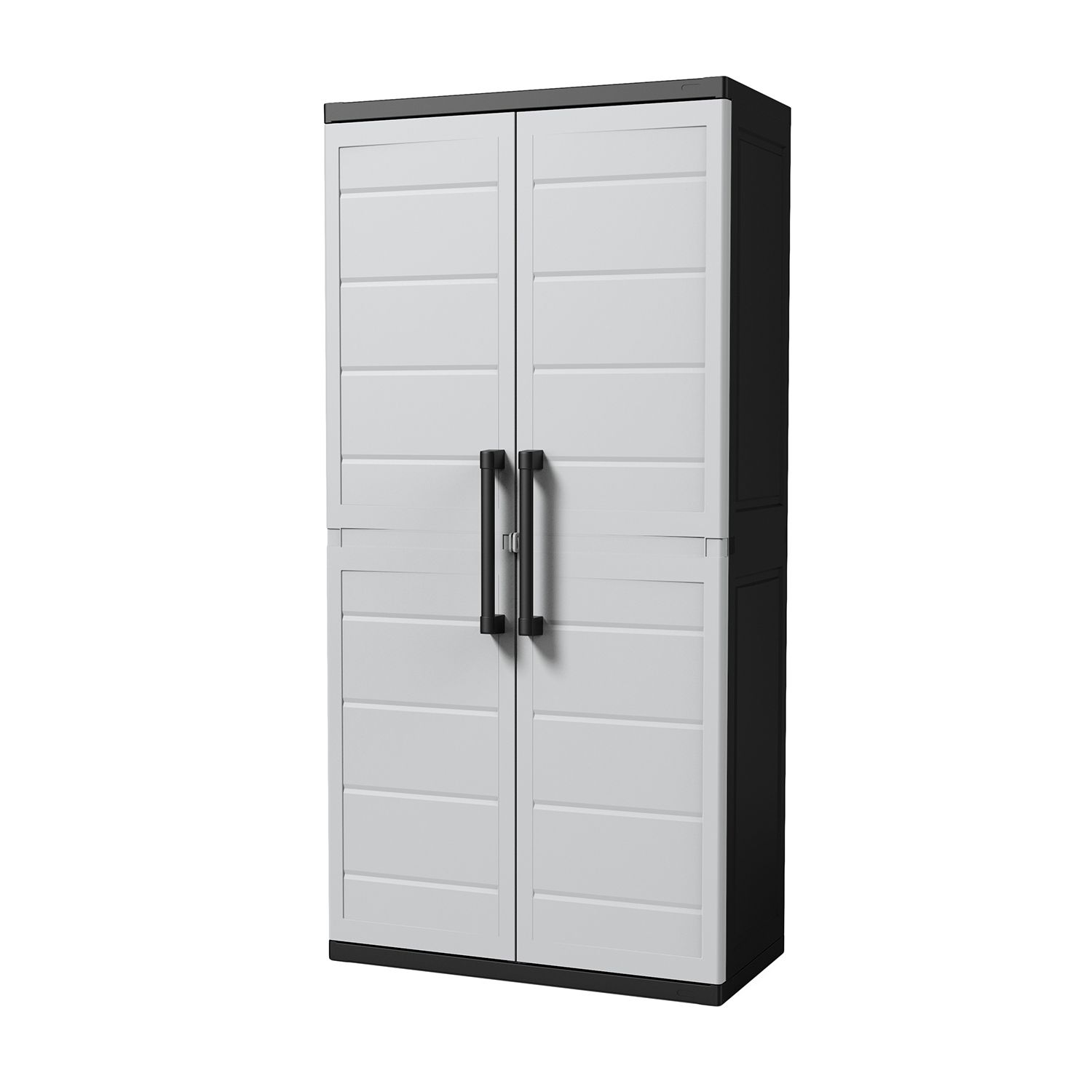 Keter XL Plus Utility Storage Cabinet With 4 Shelves