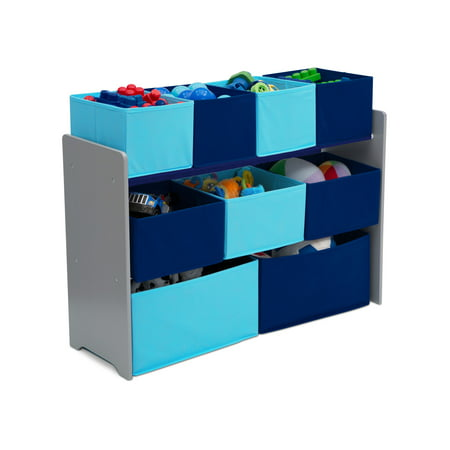 Kids Storage Organizer (Delta Children Deluxe Multi-Bin Toy Organizer with Storage Bins )