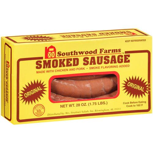Southwood Farms Smoked Sausage, 28 oz