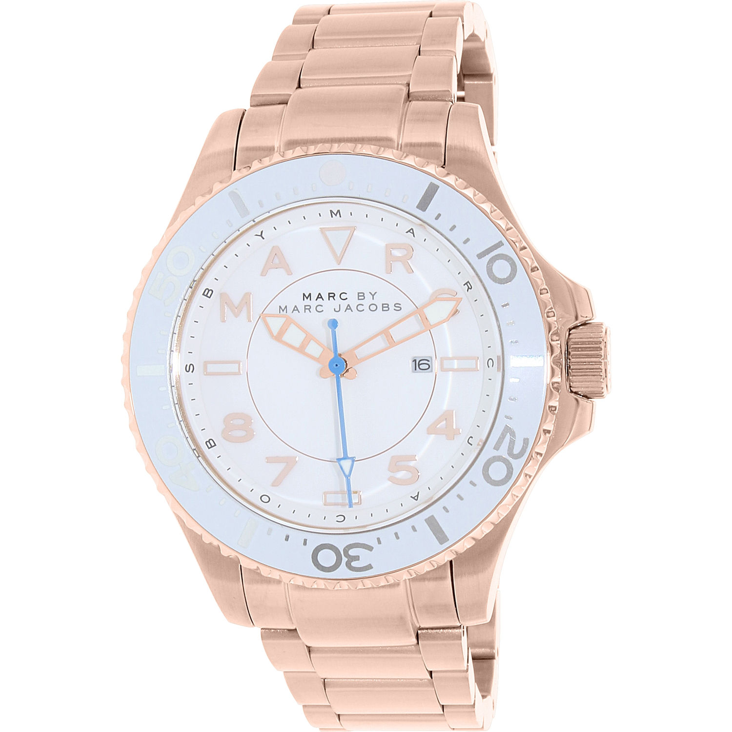 Women's Dizz MBM3409 Rose Gold Stainless-Steel Quartz Watch