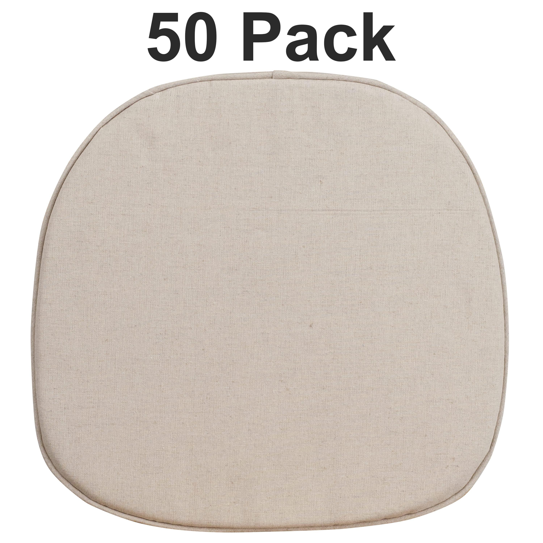Flash Furniture 50 Pk. Cross Back Barstool Cushion
