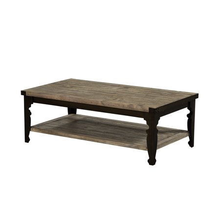 Prime Emerald Home Valencia Reclaimed Pine And Black 52 Coffee Table With Plank Style Top Metal Legs And Open Shelf Short Links Chair Design For Home Short Linksinfo