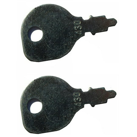 (2) Ignition Switch Keys for Indak 691959 Toro Zero Turn Riding Lawn