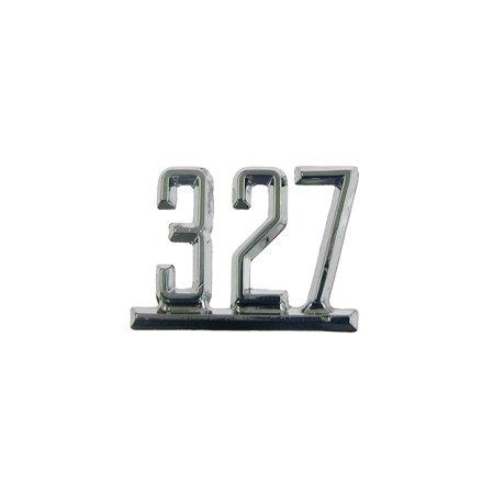 Eckler's Premier  Products 33-178857 Camaro Fender Emblem, 327, (Camaro Fender Brace)