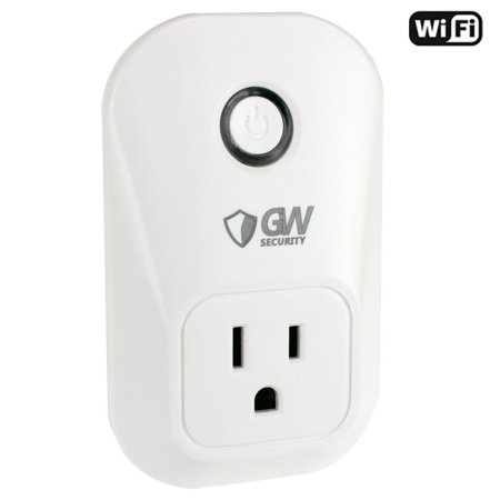 GW Security Wi-Fi Wireless Smart Power Socket Outlet US Plug, Works with Alexa Echo, Timing Function, Control your Devices from Anywhere for iphone ipad Android