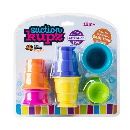 Fat Brain Toys Suction Kupz Bath Toy - Toy Brain