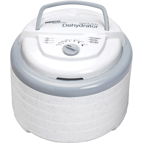 Nesco FD-75PR Snackmaster Pro 600 Watt Food Dehydrator by Metal Ware