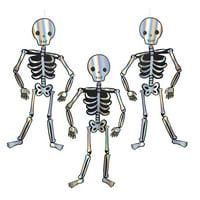 Meri Meri Giant Skeleton Decoration, 3ct