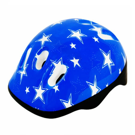 Adjustable Fitting Size M Kids Bike Protective Helmet, Star (Adjustable Kids Helmet)