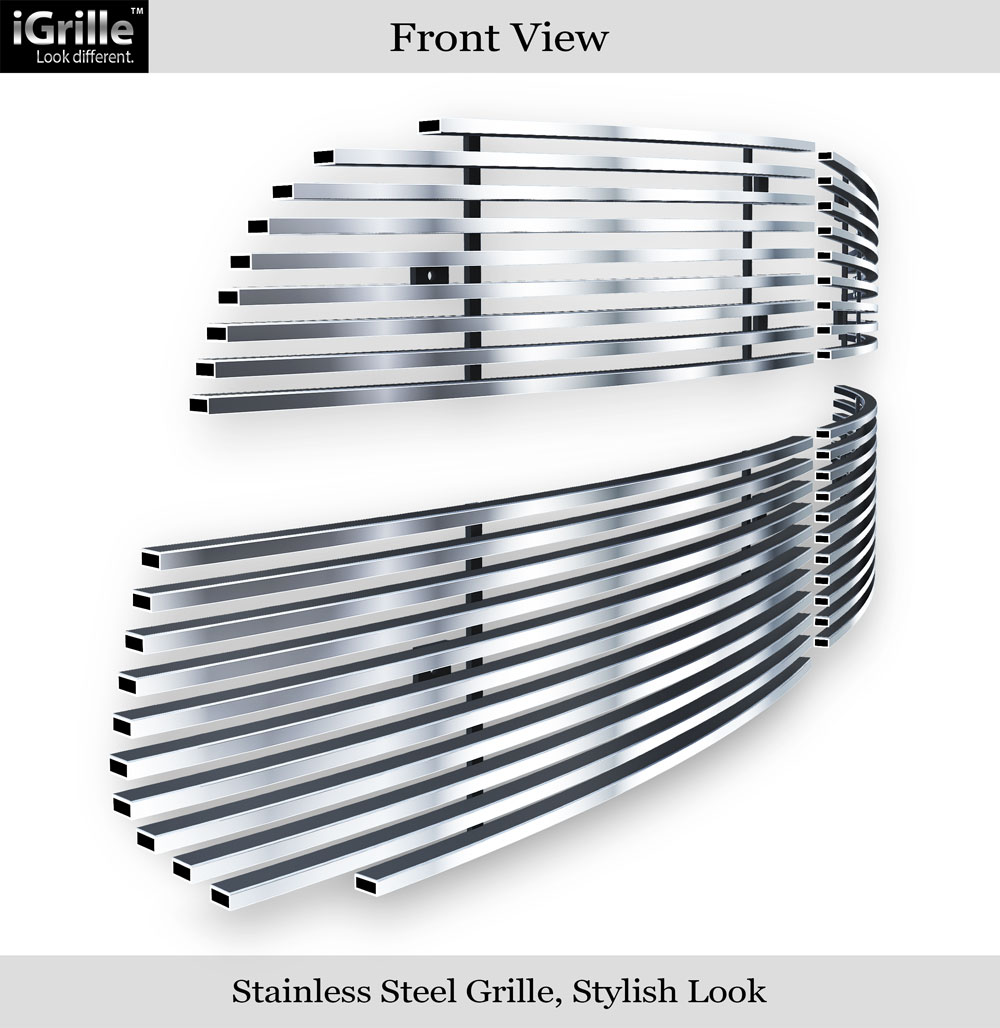 For 2013-2018 Ram 1500 Stainless Steel Billet Grille Grill Inserts