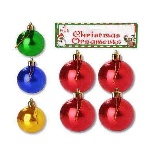 Christmas Bulb Ornament - Set of 24
