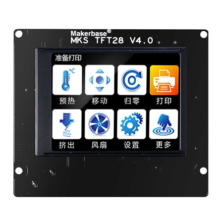 3D Printer Color Touched Smart Controller 2.8 Inch MKS TFT28 Display Screen - image 3 de 3