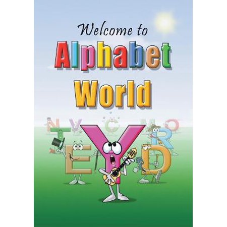 Welcome to Alphabet World (Paperback)](Alphabet In Script)
