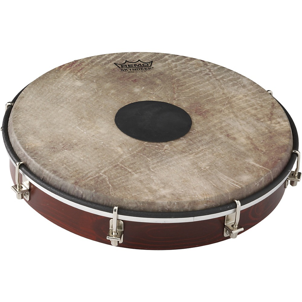 Remo Tablatone Frame Drum Brown and White Skyndeep Fish Skin 10 in.