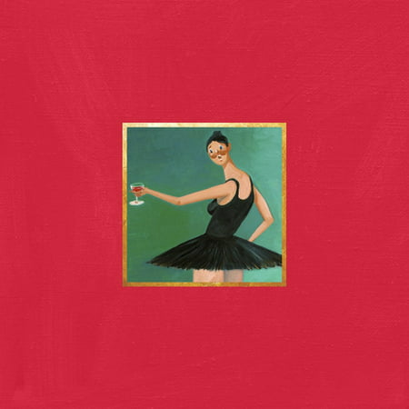 My Beautiful Dark Twisted Fantasy (CD) (Kanye West My Beautiful Dark Twisted Fantasy Listen)
