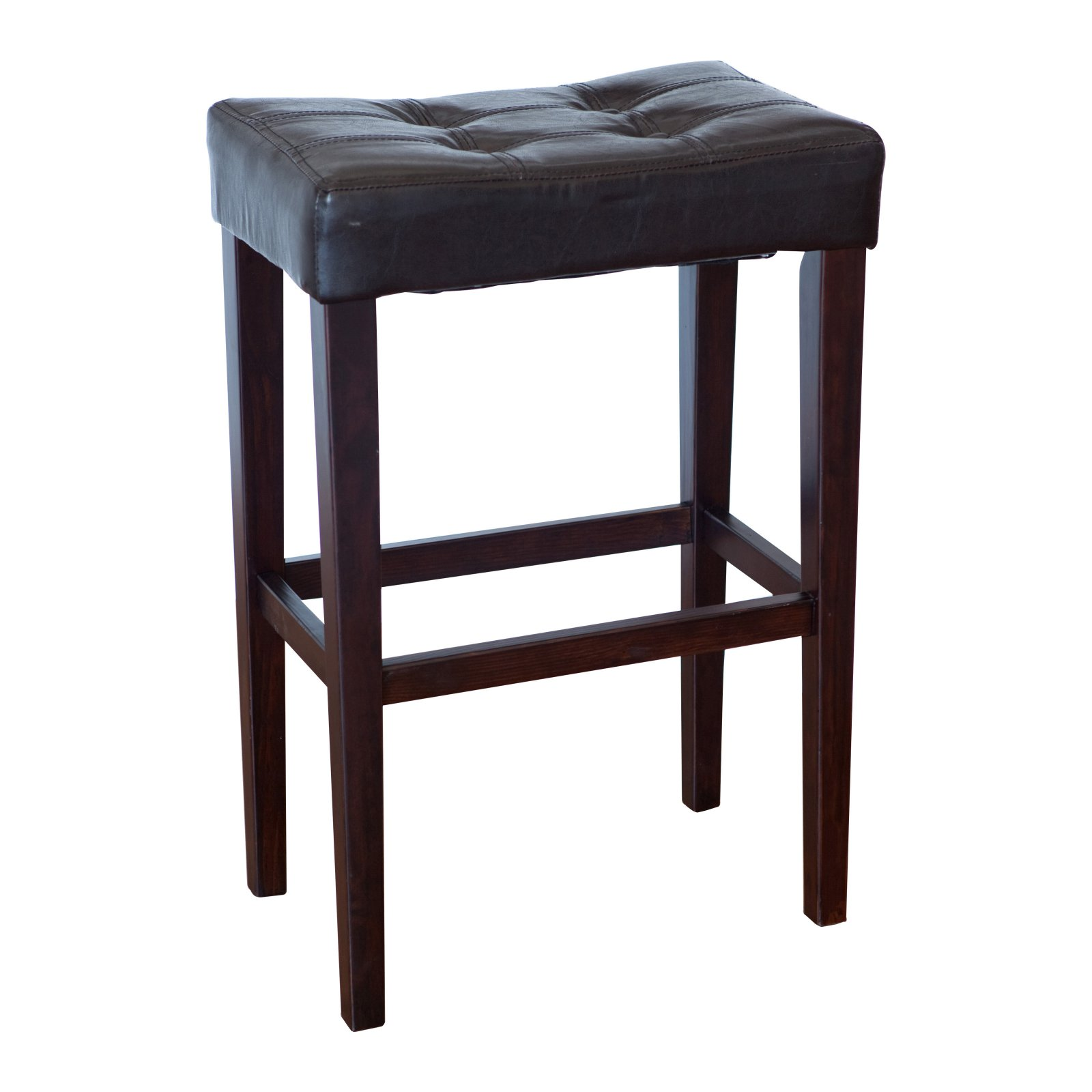 Palazzo 29-in. Saddle Bar Stool - Brown