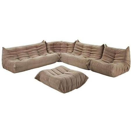 Modway Waverunner Modern Lounge Sofa Set, Multiple Colors - Walmart.com