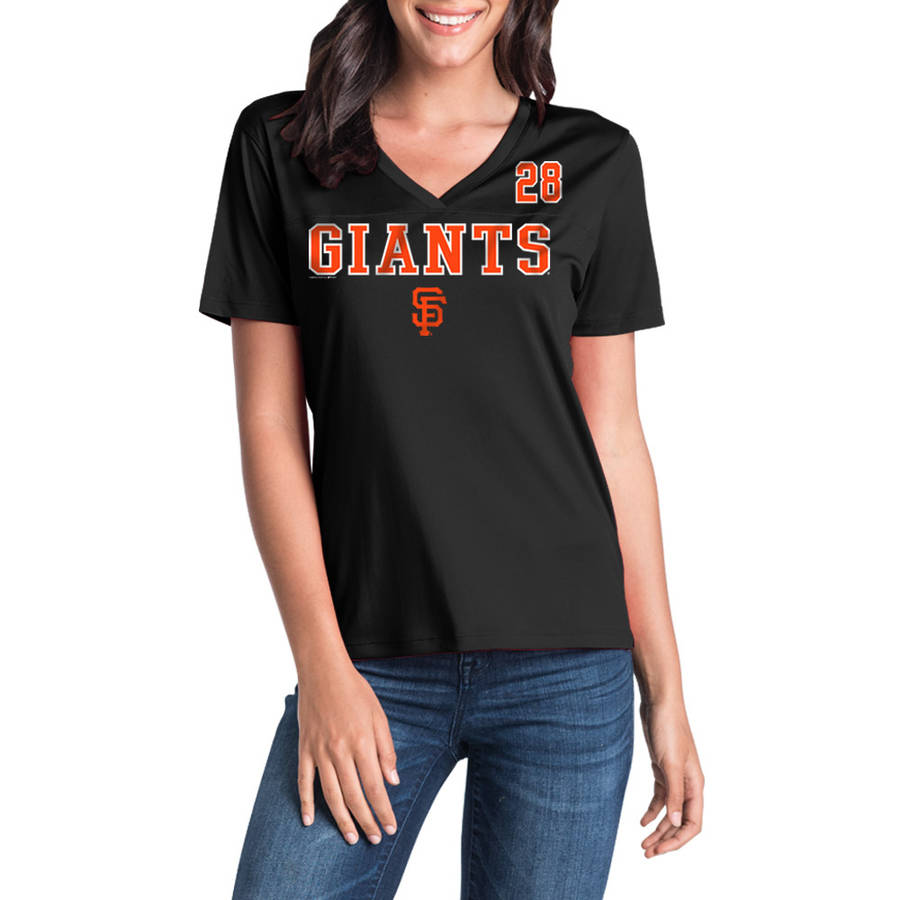 MLB San Francisco Giants Women's Buster Posey Short Sleeve Player Tee
