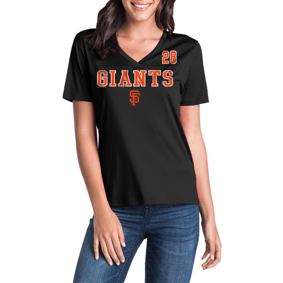 MLB San Francisco Giants Women's Buster Posey Short Sleeve Player Tee