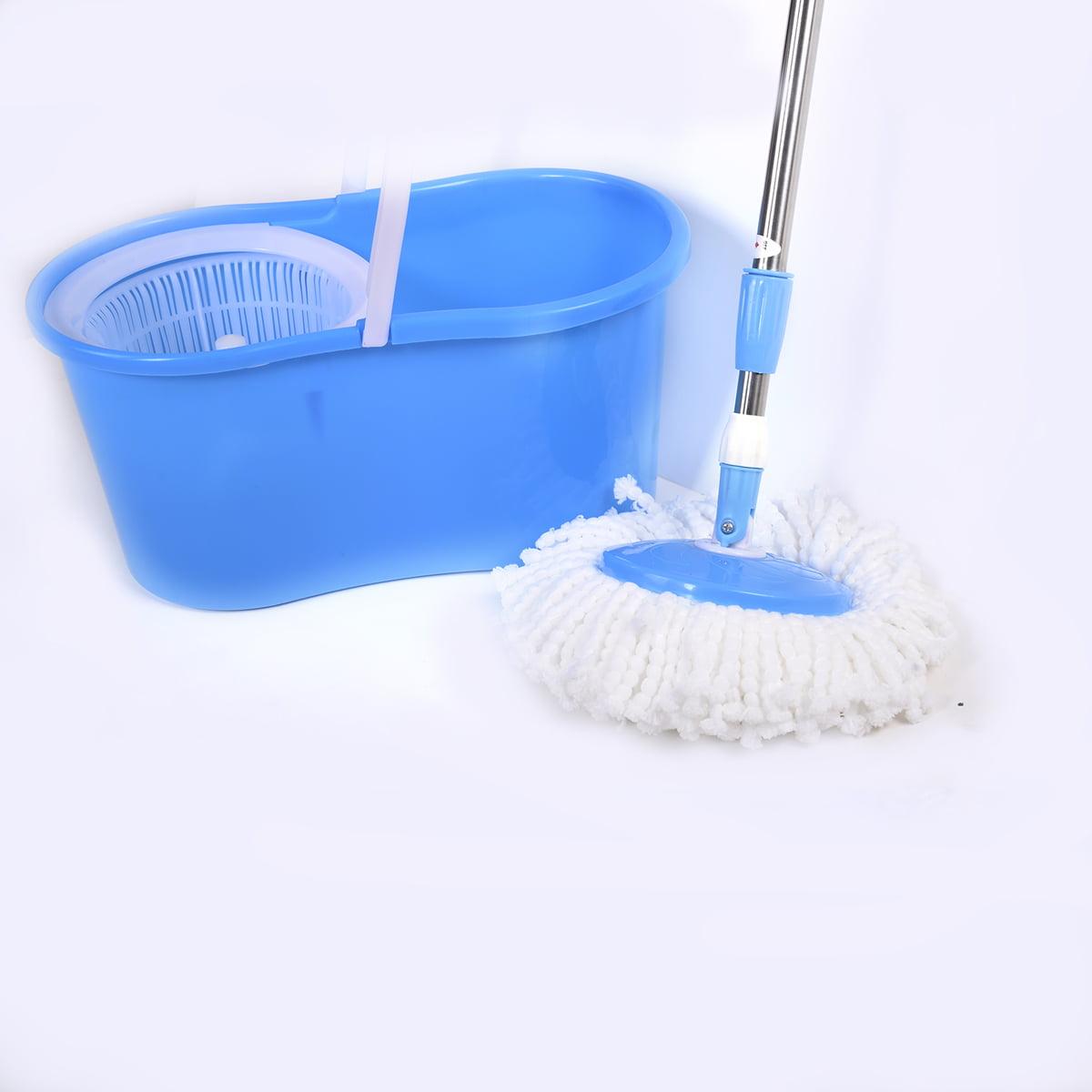 Big Boss Instamop Spinning Action Mop With Bucket Purple
