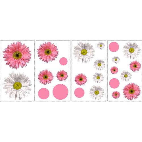 Flower Power Peel & Stick Appliques