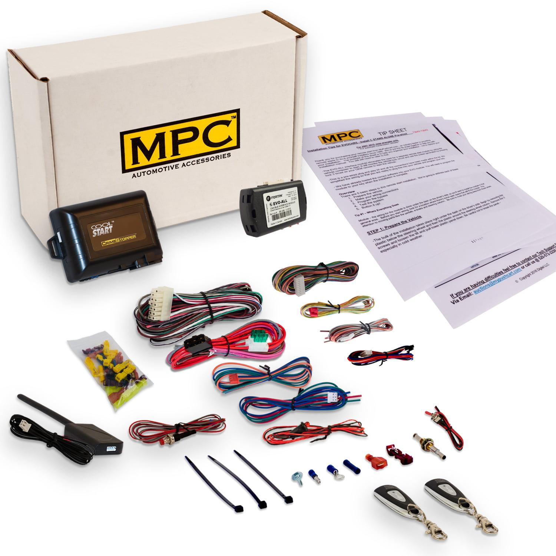 MPC 1-Button Remote Auto Start Kit For 2012-2014 Toyota P...
