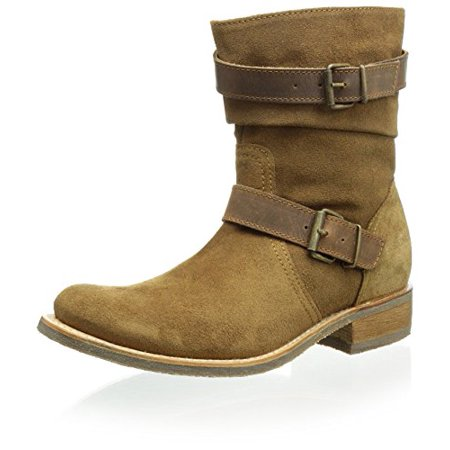 (Sendra Women's City Double Buckle Flat Boot, Camel, 6 M US)